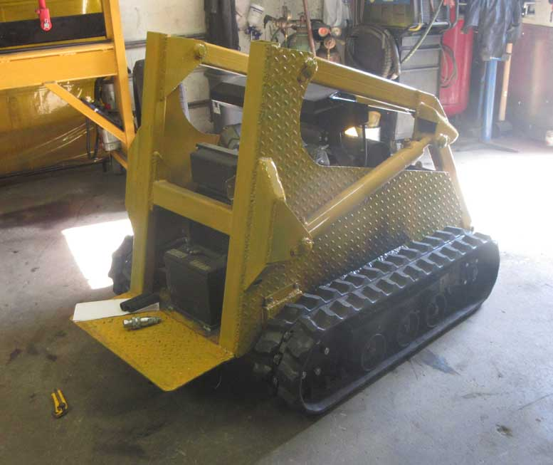 MINI SKID STEER LOADER akula
