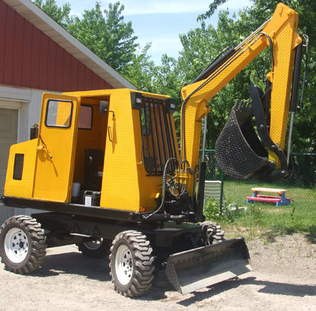 Cost To Lift A Truck >> CDP backhoe, CAD DESIGN+