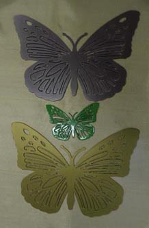 butterfly powder coating