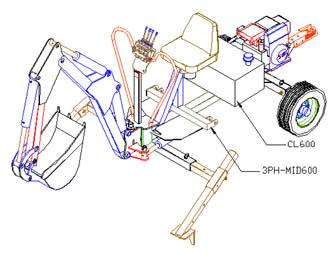 CDP-Backhoe com -Backhoe Plans & Kit -Backhoe Thumbs