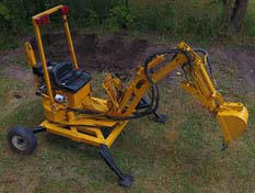 MINI TOWABLE EXCAVATOR