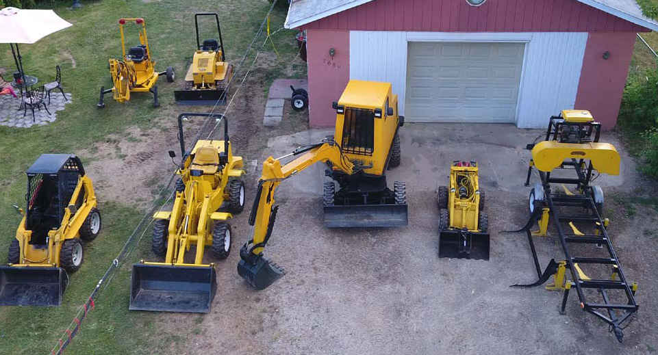 MINI EXCAVATOR, DOZER, MINI SKID STEER LOADER, BACKHOE